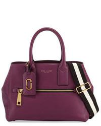 Gotham leather tote bag iris medium 760704