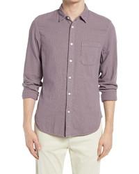 Kato Trim Fit Solid Button Up Shirt