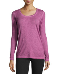 Blu clover monica long sleeve tee passion pit medium 780009