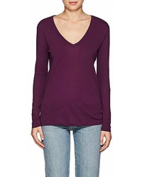 Barneys New York Cotton Long Sleeve T Shirt