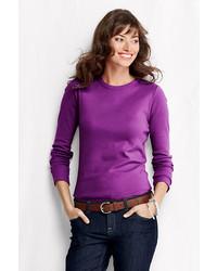 Classic Plus Size Shaped Cotton Crewneck T Shirt Night Sky Print24w