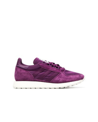 Purple Low Top Sneakers