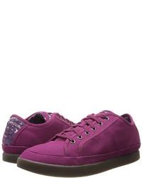 Purple Low Top Sneakers