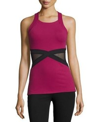 Beyond Yoga X Marked Mesh Tank Top Merlot