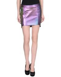 Purple mini skirt original 1462713