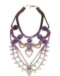 Charm & Chain Doloris Petunia Oslo Necklace Ombre Purple