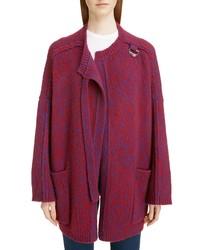 Chloé Wool Cashmere Cardigan Coat