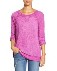 Caslon burnout sweatshirt medium 343579