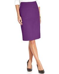 Ellen Tracy Slim Pencil Skirt