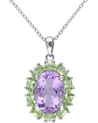 Amour 7500033570 Stainless Steelsilverpurplegreen Pendants