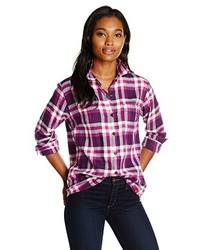 Dickies long sleeve plaid flannel shirt medium 378256