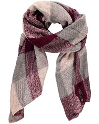 Boohoo Cali Oversized Check Scarf