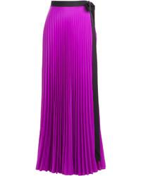 Pleated maxi skirt medium 278391