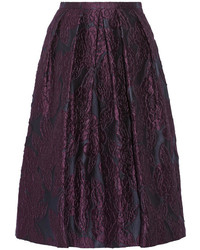 London jacquard midi skirt medium 114201