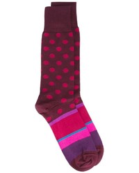 Paul Smith Polka Dot Pattern Socks