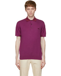 Etro Pink Jersey Polo