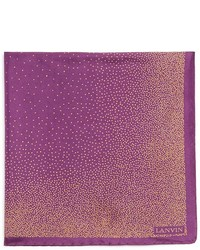 Lanvin Degrad Dots Pocket Square