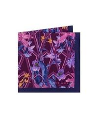Ted Baker London Floral Silk Pocket Square
