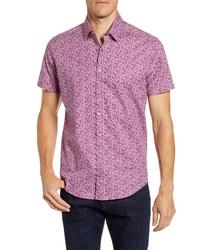 Stone Rose Regular Fit Short Sleeve Button Up Shirt