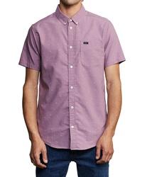 RVCA Thatll Do Geo Print Woven Shirt