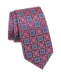 Nordstrom Terry Neat Geometric Silk Tie