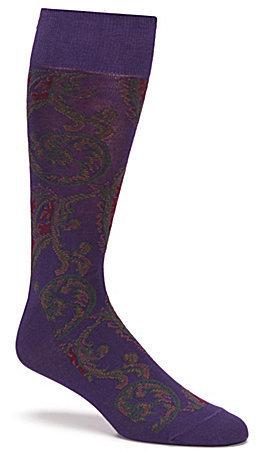 Polo Ralph Lauren Paisley Crew Dress Socks 47c30dad3e03