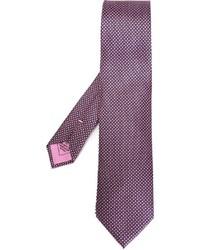 Brioni Micro Print Tie