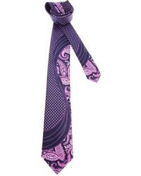 Brioni Paisley Print Tie