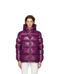 Moncler Purple Down Ecrins Jacket