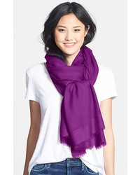 Nordstrom Tissue Weight Wool Cashmere Wrap