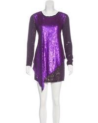 Long sleeve embellished dress medium 6704559