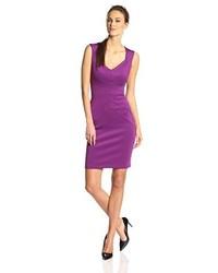 Purple sheath dress original 9814512