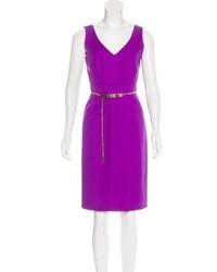 Versace Sheath Knee Length Dress