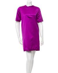 Burberry Short Sleeve Shift Dress
