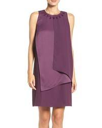 Adrianna Papell Draped Shift Dress
