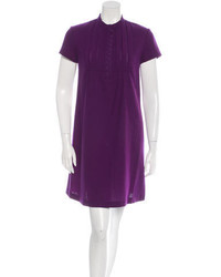 See by Chloe See By Chlo Pleat Accented Shift Dress