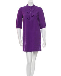 See by Chloe See By Chlo Three Quarter Sleeve Shift Dress