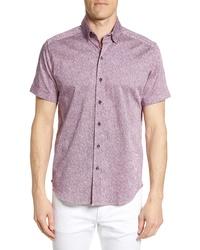 Robert Graham Scott Regular Fit Print Sport Shirt