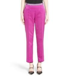 Etro Silk Ankle Pants