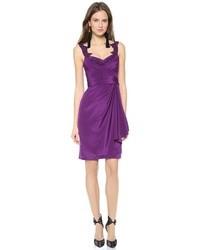 Silk crepe dress medium 38460