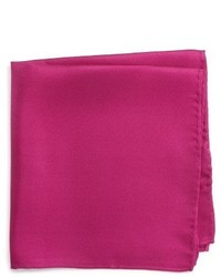Nordstrom Shop Solid Silk Pocket Square