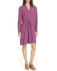Eileen Fisher Drawstring Shirtdress
