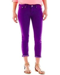 jcpenney Jcp Slim Fit Skinny Ankle Jeans Talls