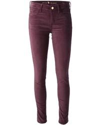 The breathless claret velvet jeans medium 1357759