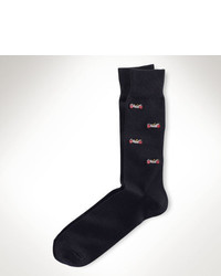 Polo Ralph Lauren Embroidered Car Trouser Socks