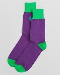 Thomas Pink Fox Color Block Socks