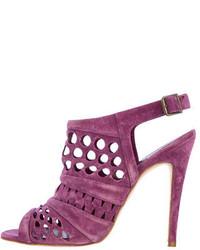 Suede sandals medium 134725
