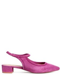 Suede slingbacks medium 5270057