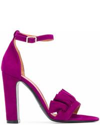 Via roma 15 chunky heeled sandals medium 7012382