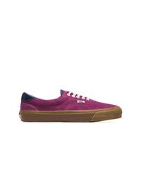 Vans Purple Og Era 59 Lx Suede Leather Sneakers
